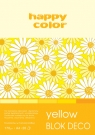 Blok Deco Yellow A4/20