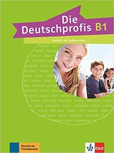 Die Deutschprofis B1 Testheft + audio online praca zbiorowa
