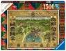 Puzzle 1500: Mapa Hogwartu (16599)