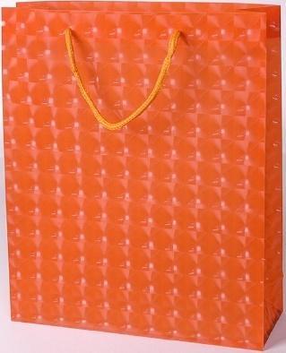 Torebka prezentowa M pomarańczowa 0115-05