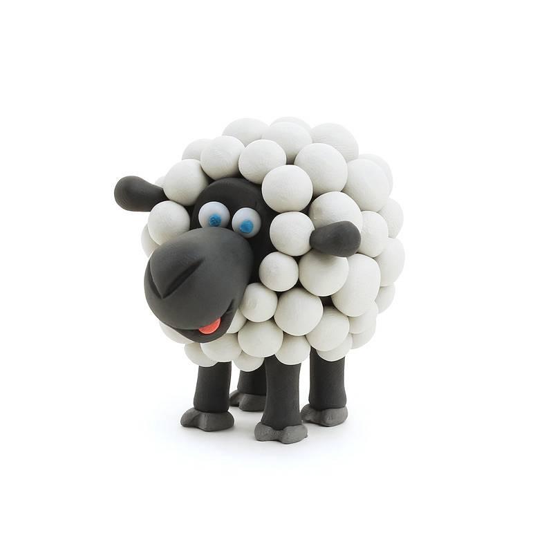 Hey Clay: masa plastyczna - Owca (HCLMN005PCS)