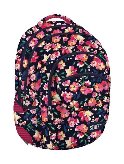 Plecak 4-komorowy St.reet Flowers 1