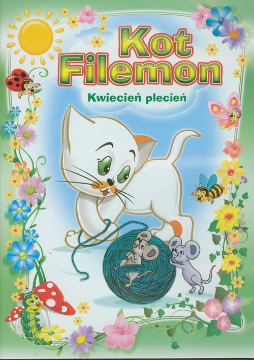 Kot Filemon Kwiecień plecień