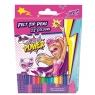 Pisaki 12 kolorów Barbie power