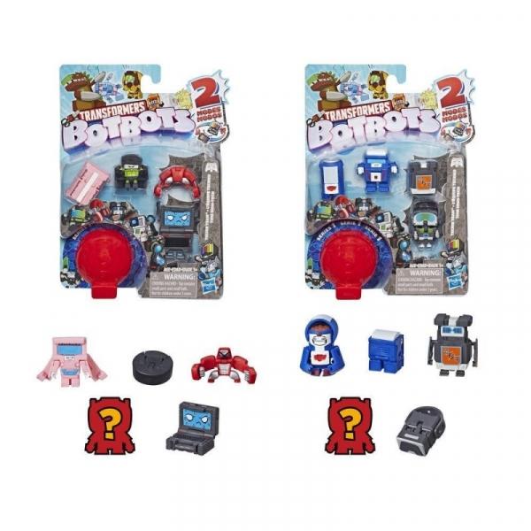 Figurki Transformers BOTBOTS 5-pak Techie Team (E3486/E4138)