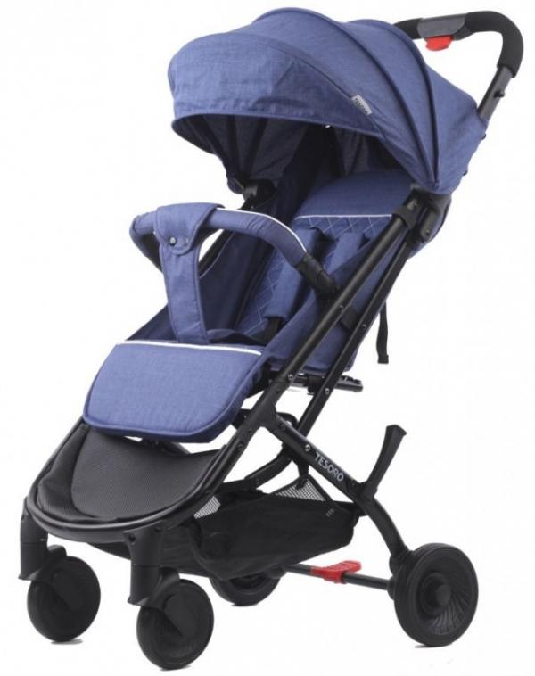 Wózek spacerowy A9 Niebieski (Tesoro A9-Blue)