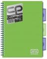 Brulion A5 CoolPack w kratkę 200 kartek zielony neon (51996PTR)