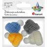 Dekoracje materiałowe - czapeczki (414484)