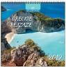 Kalendarz 2019 13 Planszowy Greckie Pejzaże