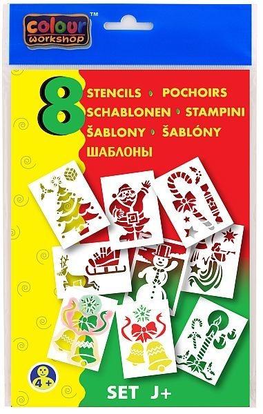Centropen: Szablony J+ (Boże Narodzenie) 9996