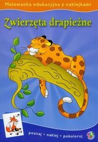Malowanki edukacyjne Zwierzęta drapieżne Klich Małgorzata