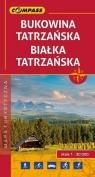 Bukowina Tatrzańska Białka Tatrzańska mapa turystyczna 1:30 000