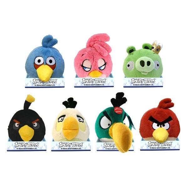 EPEE Angry Birds plusz dźwięk 21cm, 7 wz