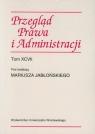 Przegląd Prawa i Administracji Tom 97