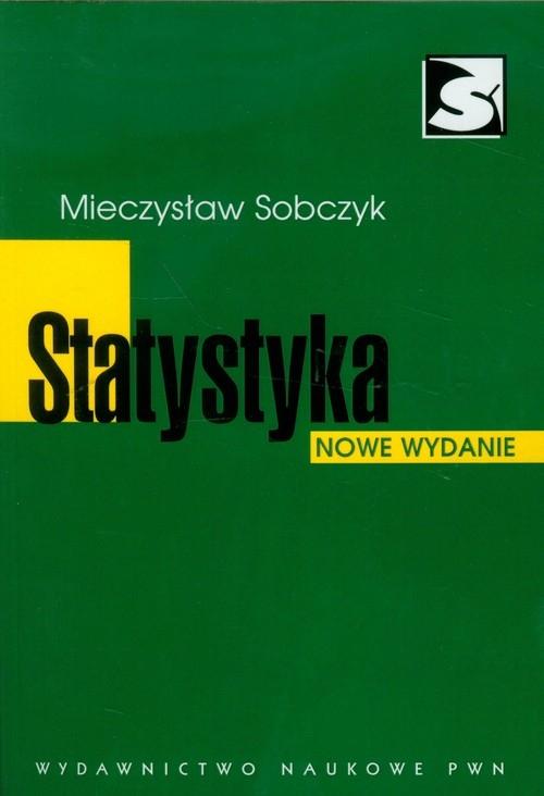 Statystyka - Sobczyk Mieczysław - książka