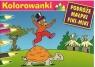 Kolorowanki Podróże Małpki Fiki-Miki Żółw