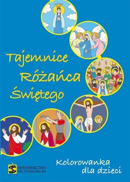 Tajemnice Różańca Świętego Kolorowanka dla dzieci
