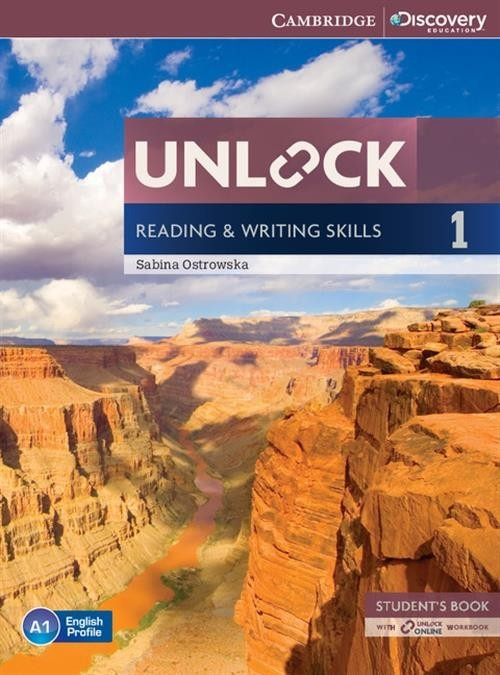 Unlock: Reading & Writing Skills 1 Student's Book + Online Workbook Ostrowska Sabina