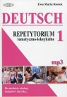 Deutsch 1 Repetytorium tematyczno-leksykalnedla młodzieży szkolnej, Rostek Ewa Maria