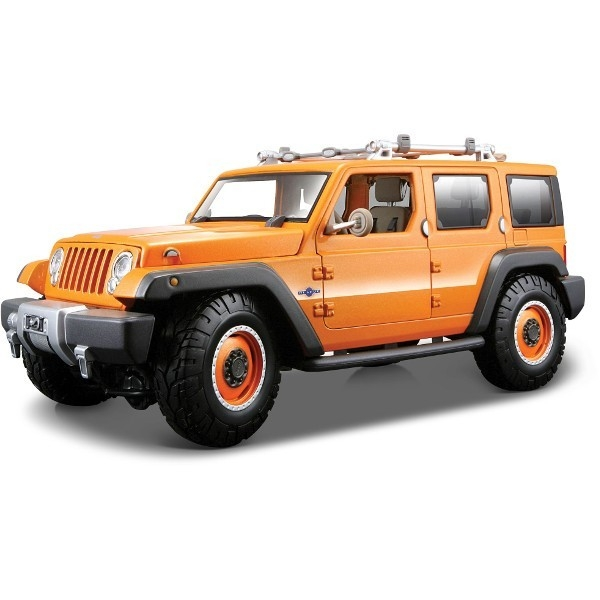 MAISTO Jeep Rescue Con (orange)