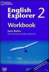 English Explorer 2 Workbook with CD Bailey Jane, Tkacz Arek, Stephenson Helen