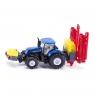 Siku Farmer - Traktor New Holland z opryskiwaczem (S1799)