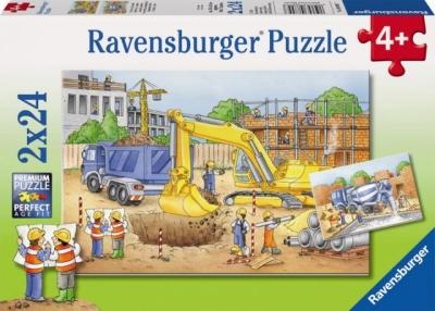 Puzzle 2x24 Teren budowy (088997) RAP088997