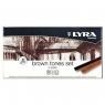 Pastele Lyra brown tones 12 kolorów (L5641121) Fila Polska