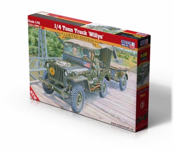 1/4 Tonn Truck Willys (D-299)