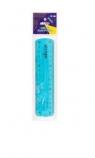 Linijka elastyczna 15cm niebieska STRIGO