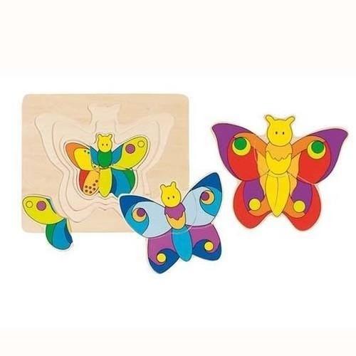 Układanka warstwowa: Motylki