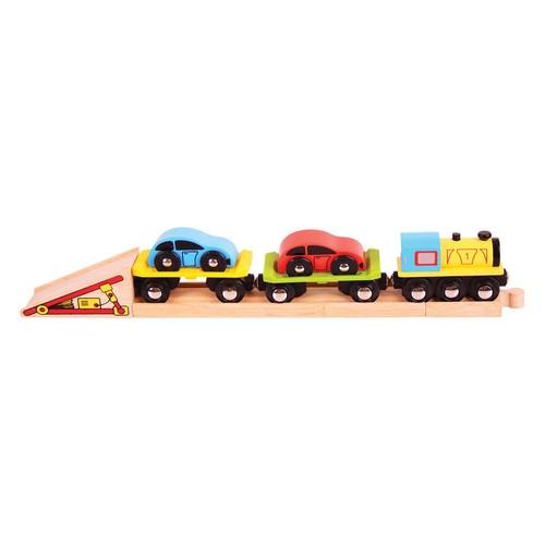 Pociąg laweta (BJT199)