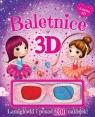 Baletnice w 3D Książka z okularami