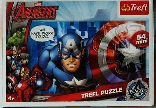 Drużyna Avengers - puzzle mini 54 (19499)