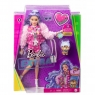 Barbie Extra: Lalka Fioletowe fale (GRN27/GXF08)