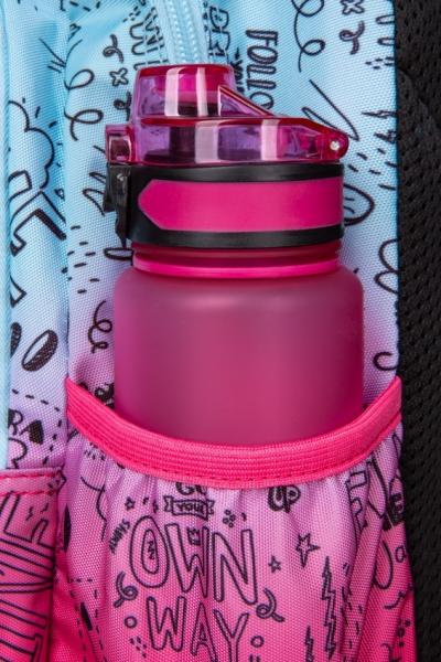 Coolpack Jerry, plecak młodzieżowy - Pink Scribble (D029340)